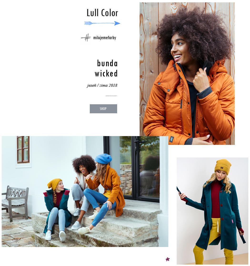Farebné oblečenie Lull Jeseň/Zima 2018
