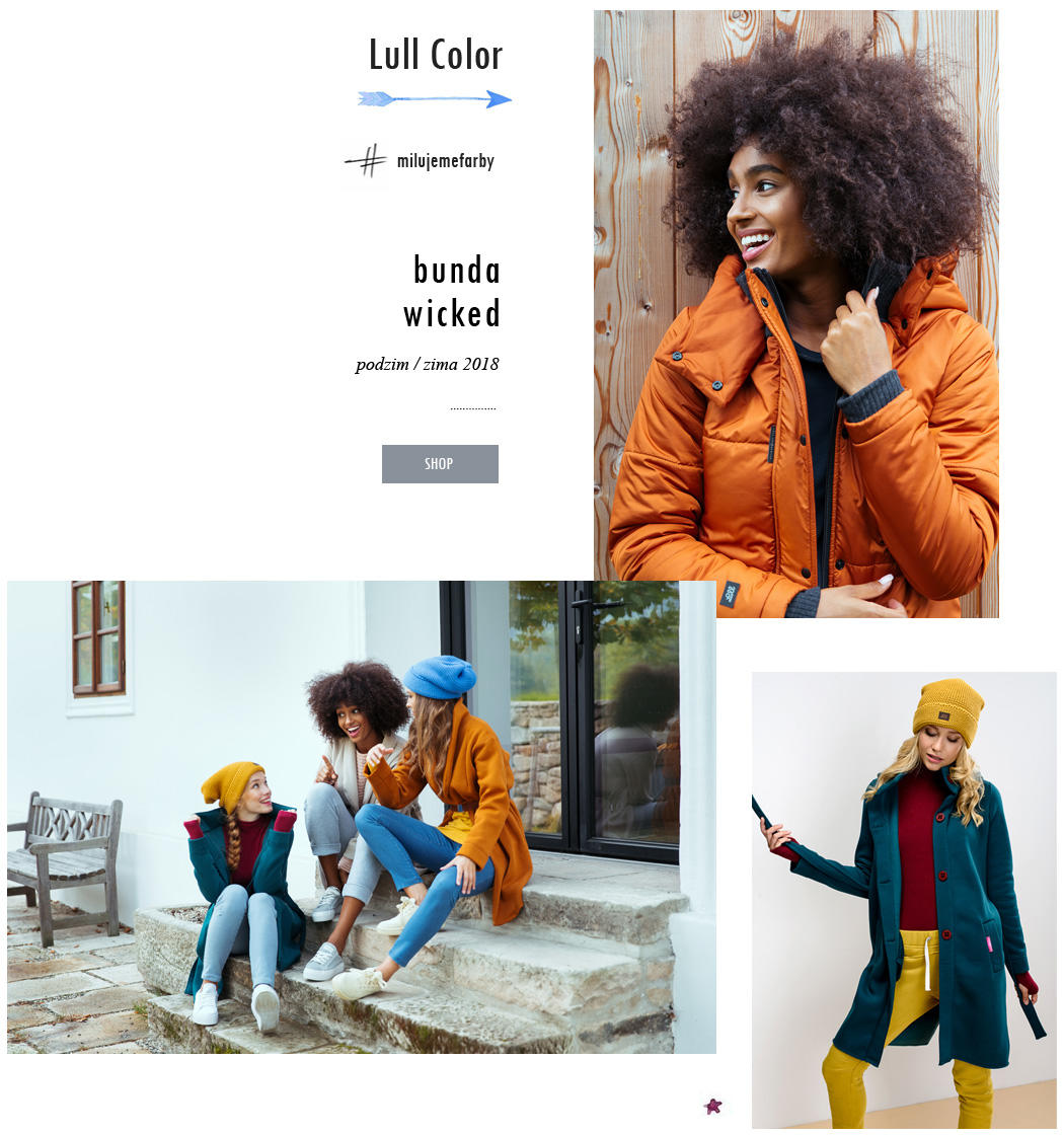 Farebné veci Lull Lull Loungewear
