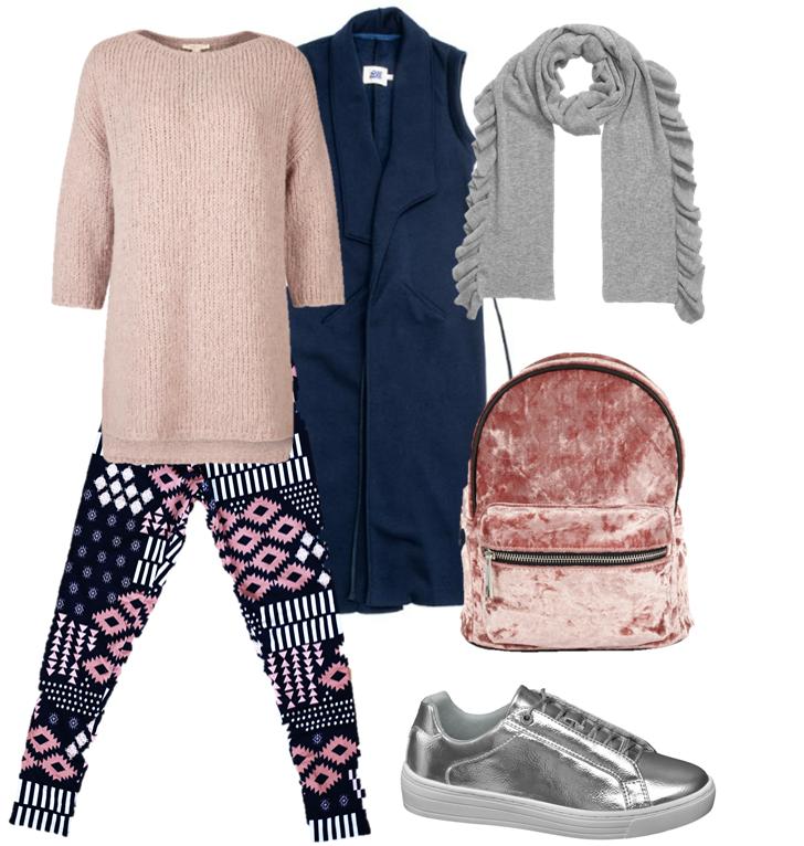 blog podšité legíny outfit