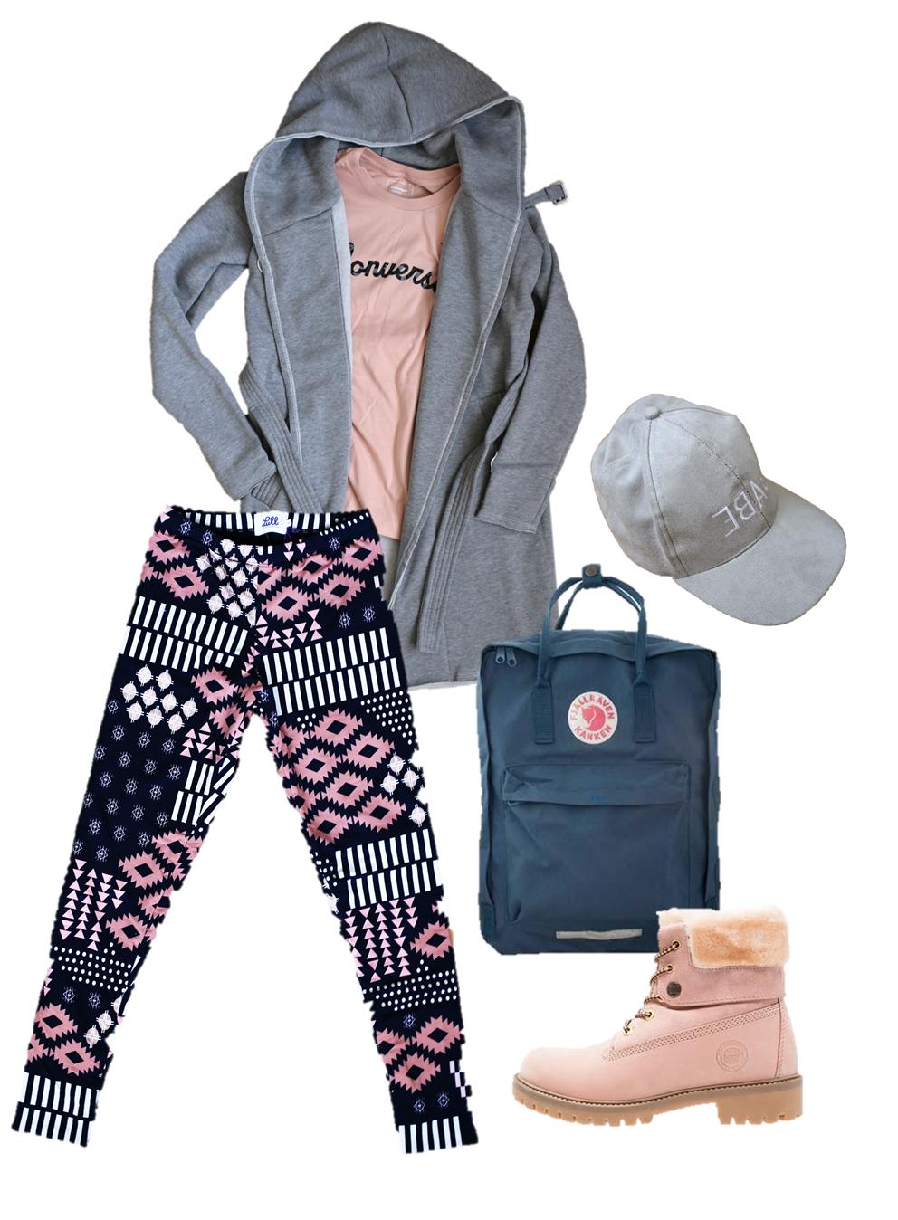 podšité legíny gamechangers outfit blog