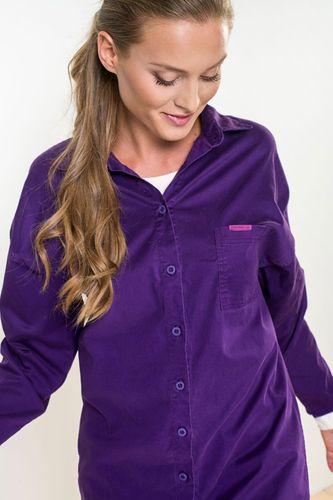 Košeľa Purple Lyca