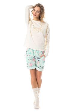 Pyžamko Cream Espang