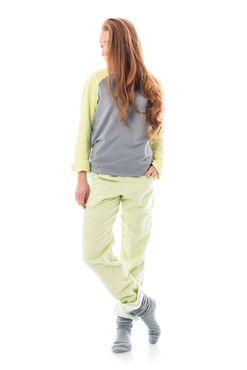 Pyžamko Lime