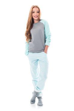 Pyžamko Turquoise
