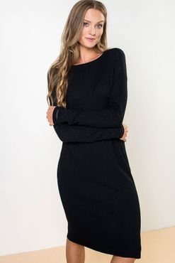 Šaty Black Ribeye
